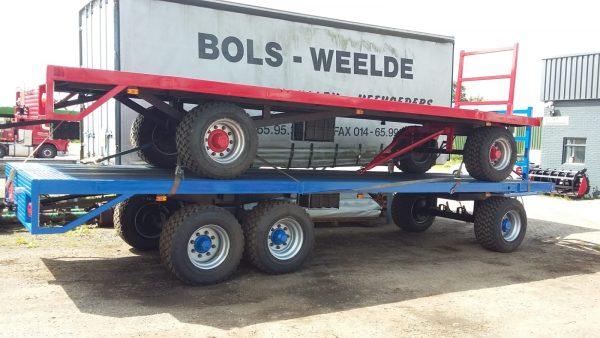 Landbouwwagens: 7 tot 7,5 m